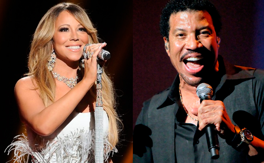Image of Lionel Richie and Mariah Carey